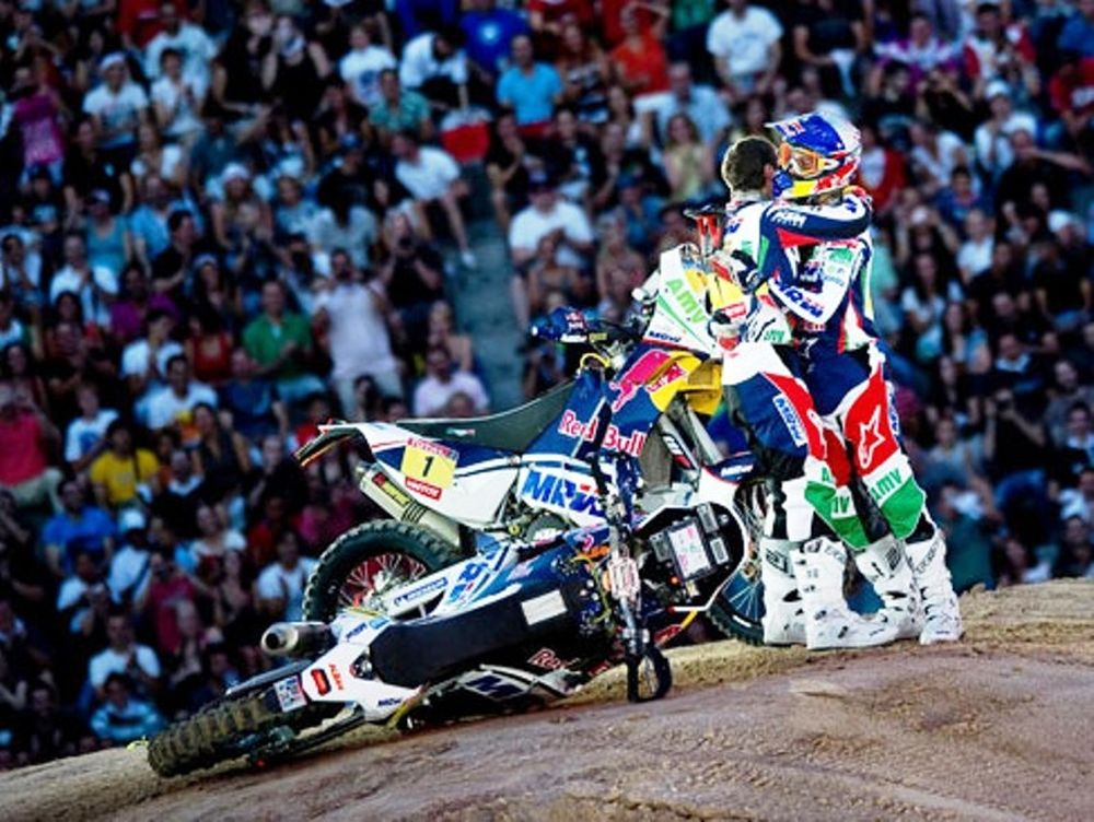 Backflip με ΚΤΜ Rally 450