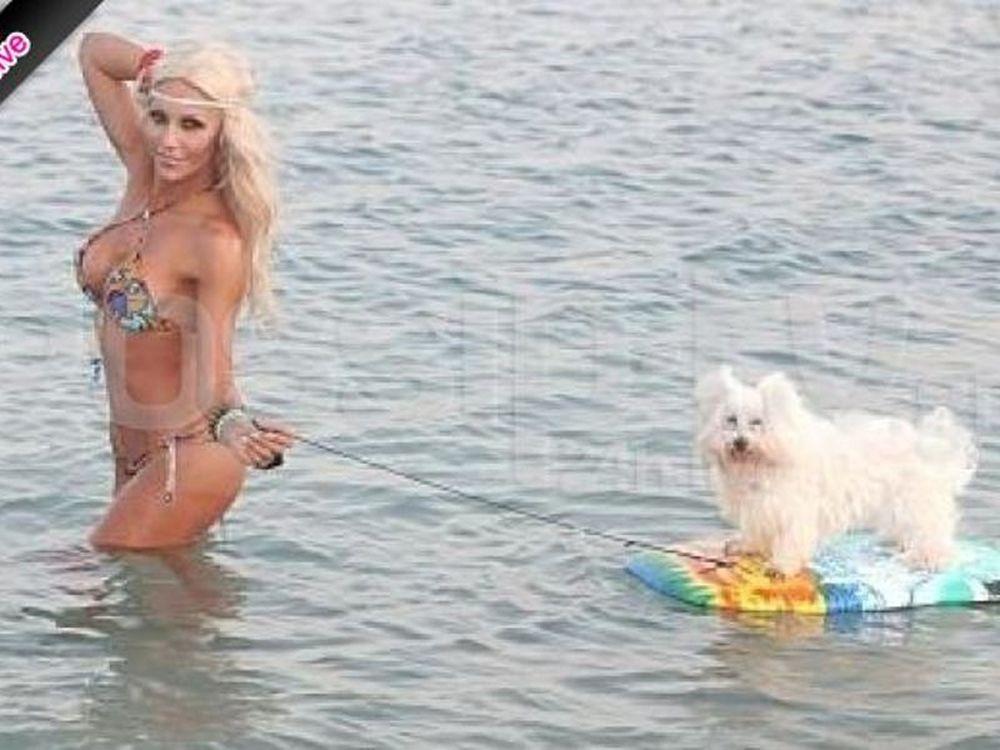Το… Baywatch σκυλί της Ζέτας