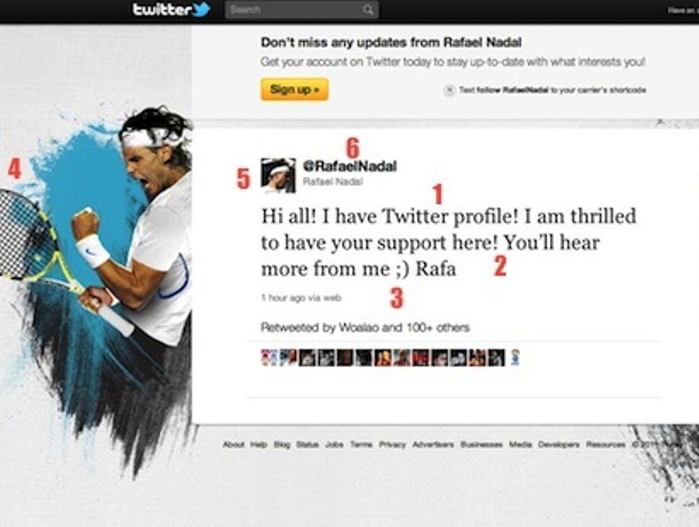 Ναδάλ, τώρα και στο Twitter