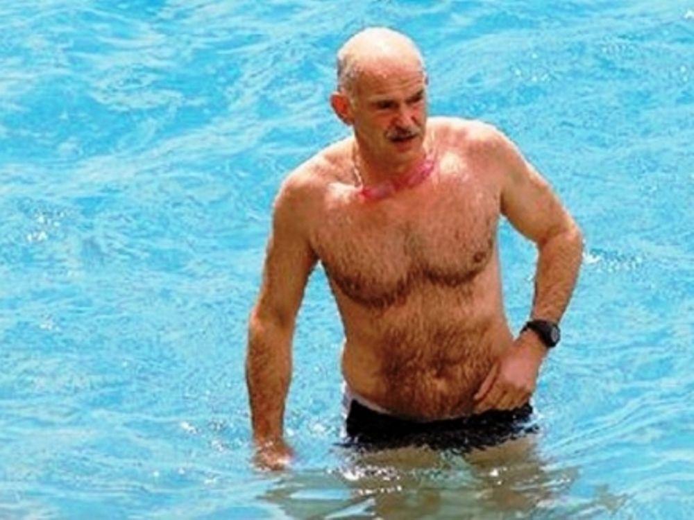 Διακοπές στην πισίνα θα κάνει φέτος ο Γιώργος