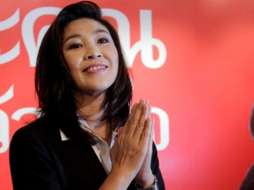 Η πρώτη γυναίκα πρωθυπουργός της Ταϊλάνδης