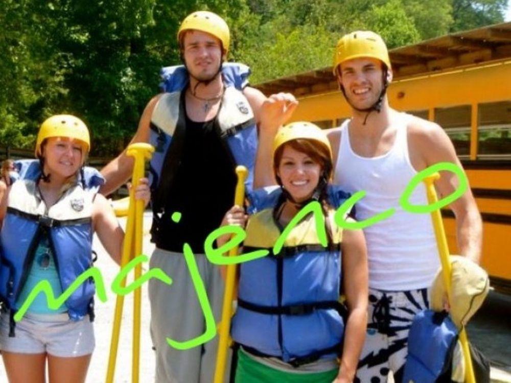 Oι αφοί Καλάθη έκαναν Rafting στο Τενεσή