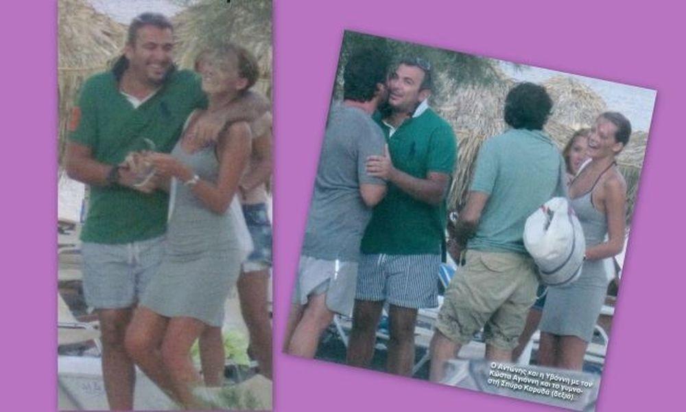Ρέμος-Μπόσνιακ: Στιγμές από τον έρωτά τους στη Σαντορίνη!