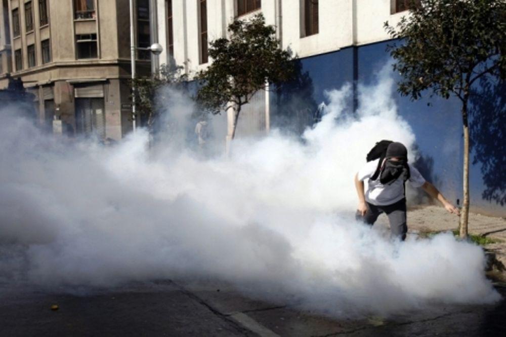 Μαζικές φοιτητικές διαδηλώσεις στη Χιλή