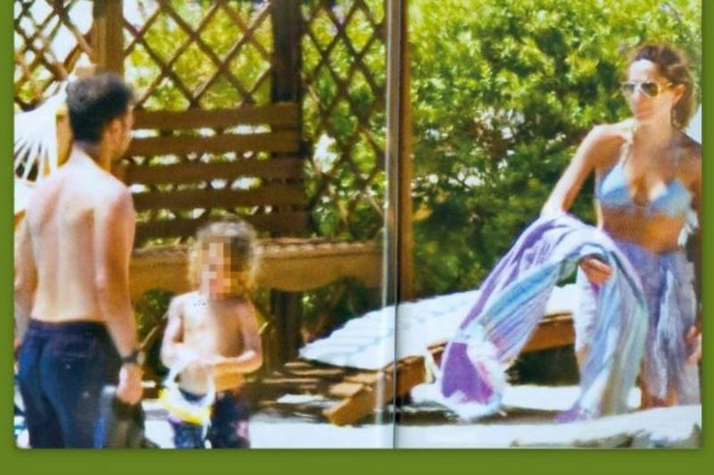 Βανδή- Νικολαΐδης: Στην Κεφαλονιά με τα παιδιά τους