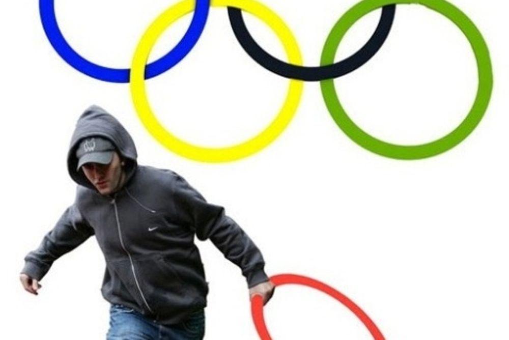 Το… πλιάτσικο στο ολυμπιακό λογότυπο