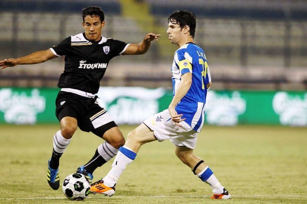 Δεύτερη ήττα για ΠΑΟΚ στην Κύπρο (vid + ph)