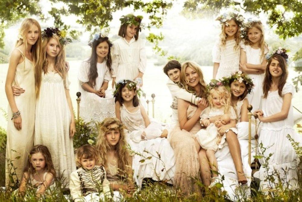 Οι επίσημες φωτογραφίες του γάμου της Kate Moss
