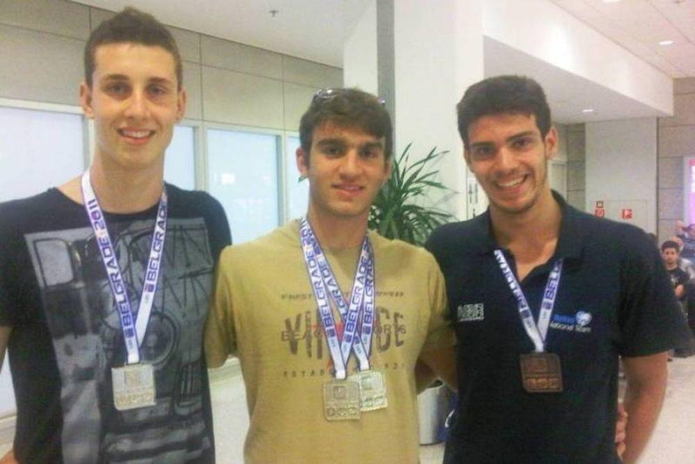 Στη Λίμα οι νεαροί Έλληνες κολυμβητές