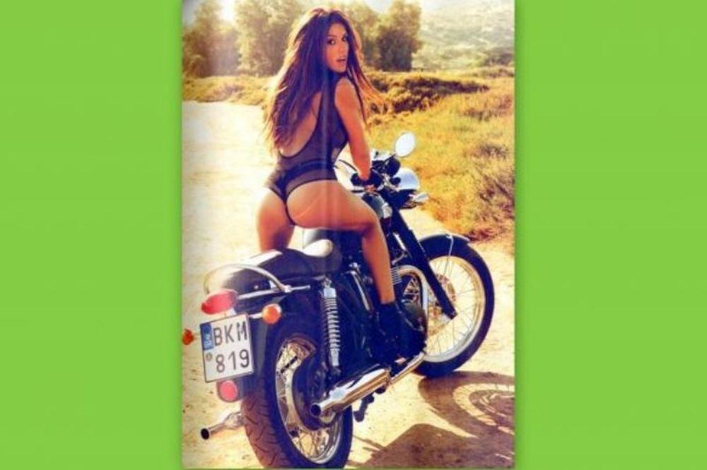 Η easy rider Χριστίνα Κολέτσα!