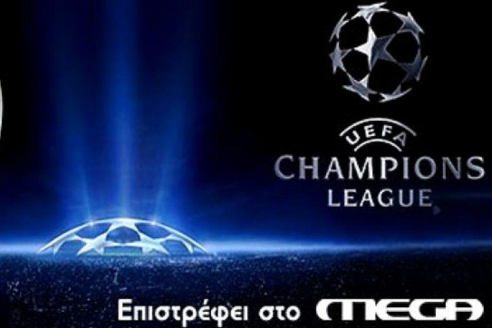 «Πρώτη» του MEGA για Champions League