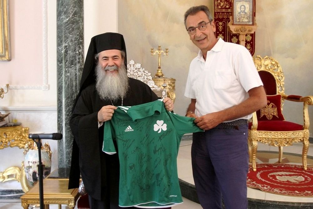 «Πράσινη» επίσκεψη στο Πατριαρχείο (photos)