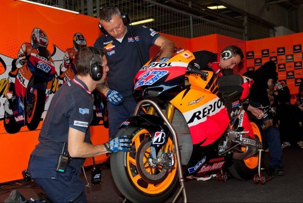 Δοκιμές MotoGP 2012