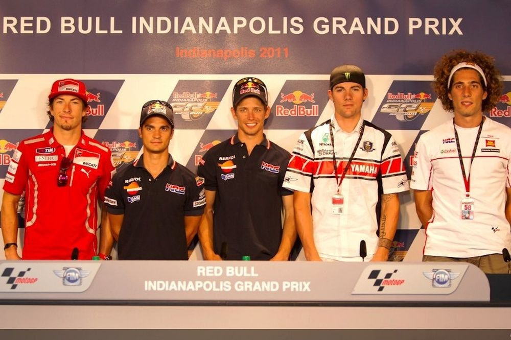 MotoGP: Συνέντευξη τύπου στην Ινδιανάπολη