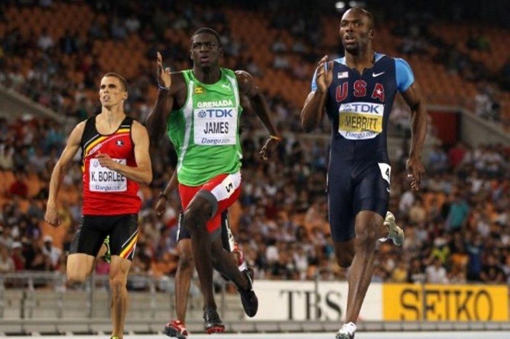 Παγκόσμιος πρωταθλητής στα 400μ. ο 19χρονος Τζέιμς