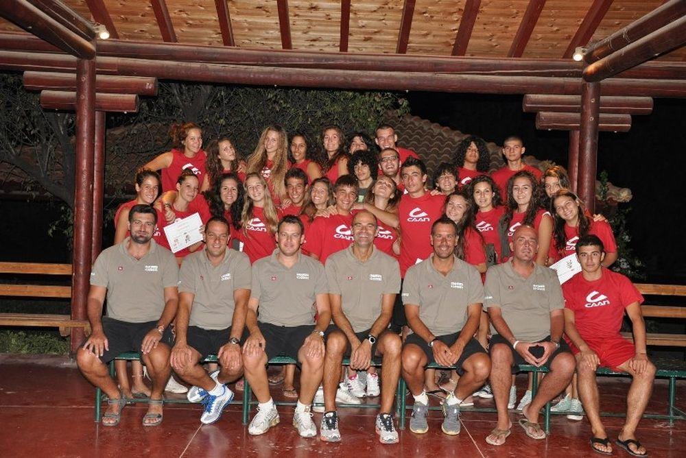 Ολοκληρώθηκε το CAAN Volley & Beachvolley Camp