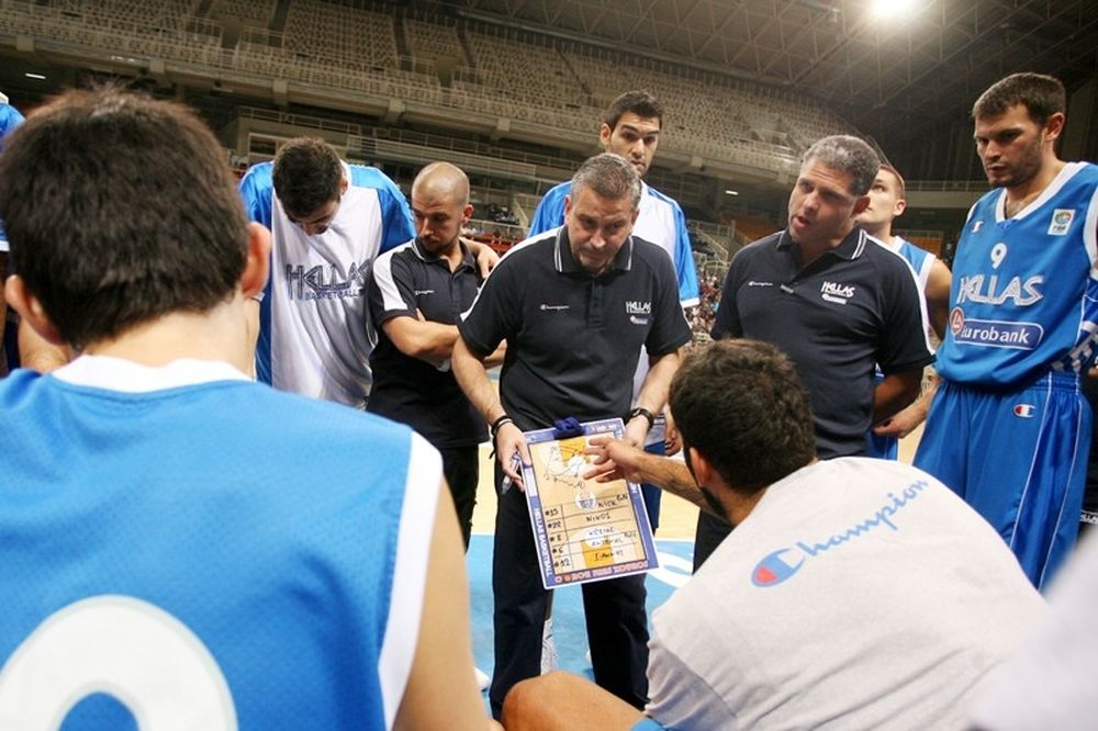 Η Ελλάδα παίζει μπάσκετ