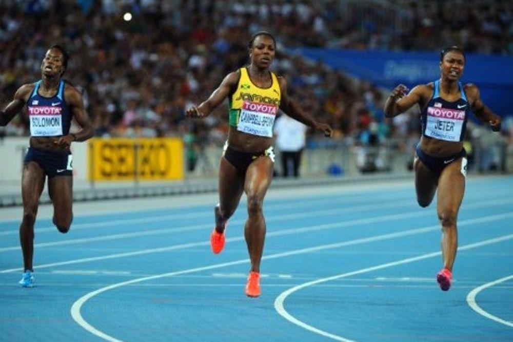 Το χρυσό η Μπράουν στα 200 μ.