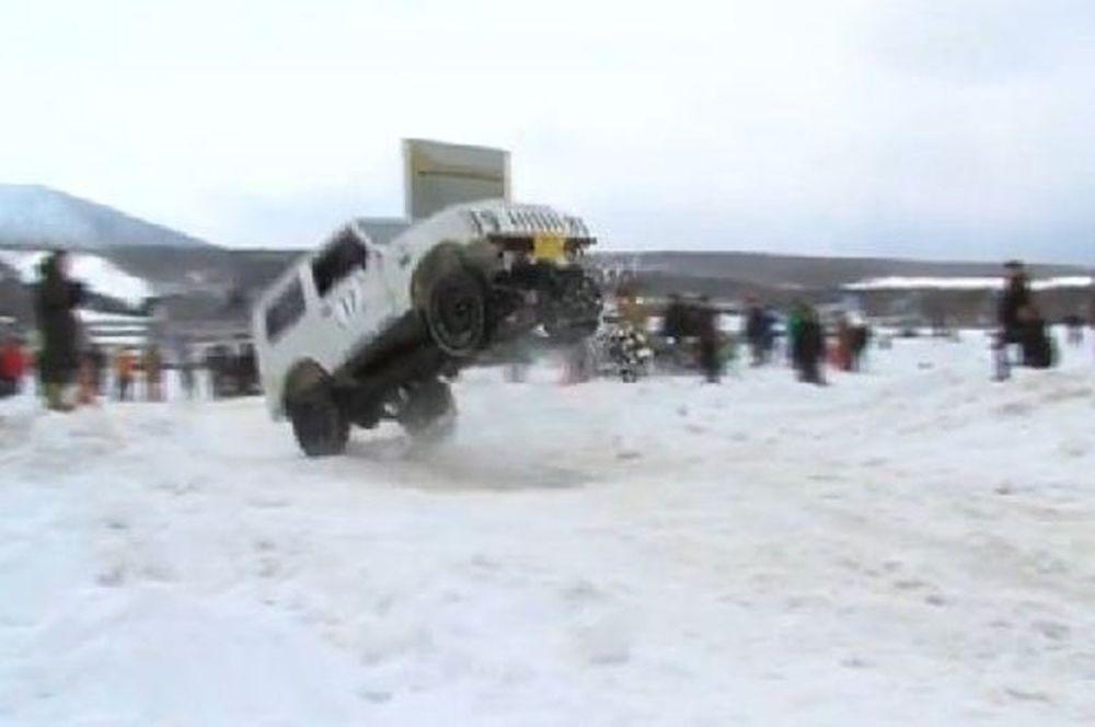 Time Attack στο χιόνι