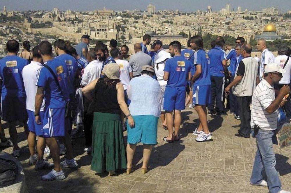 Επίσκεψη-«αστραπή» στα Ιεροσόλυμα