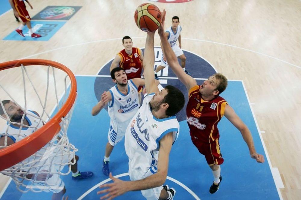 Το πρόγραμμα της Δευτέρας στο Eurobasket