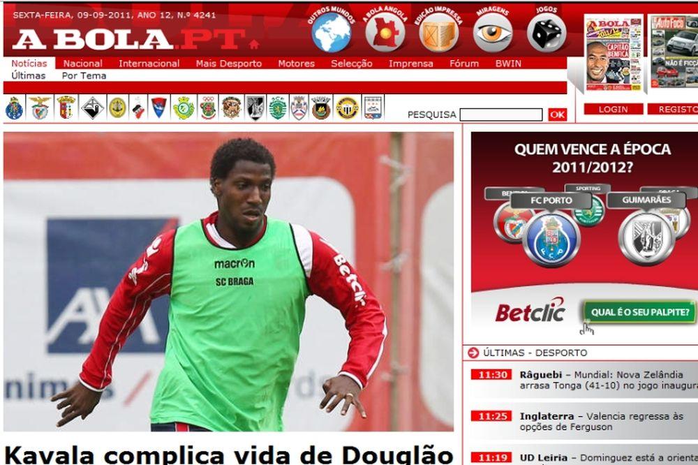 Επιβεβαίωση Onsports - μέσω «A Bola» - για Ντουγκλάο!