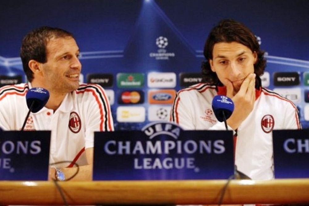 Αλέγκρι: «Με Ίμπρα στο Champions League»