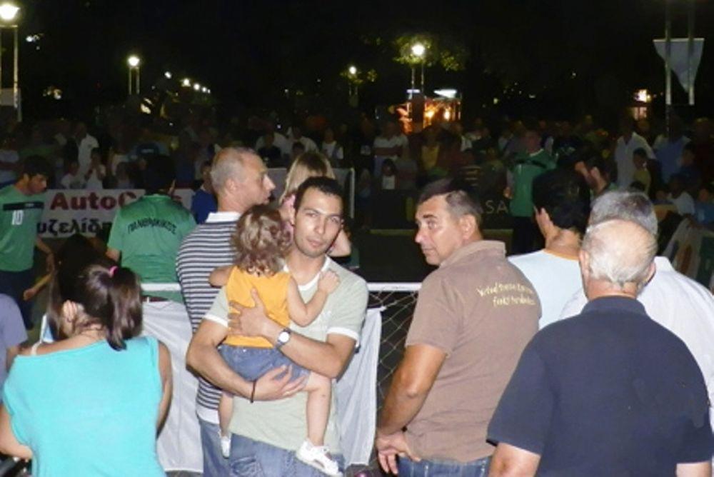 Γιορτή στην πλατεία της Κομοτηνής