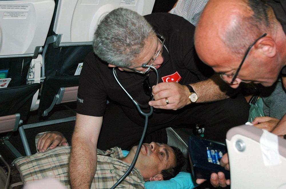 Τούρκος γιατρός έσωσε επιβάτη εν ώρα πτήσης!