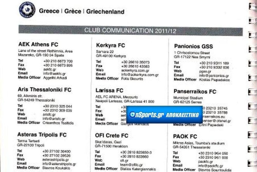H UEFA αποφάσισε... Λάρισα, Πανσερραϊκός στη Super League