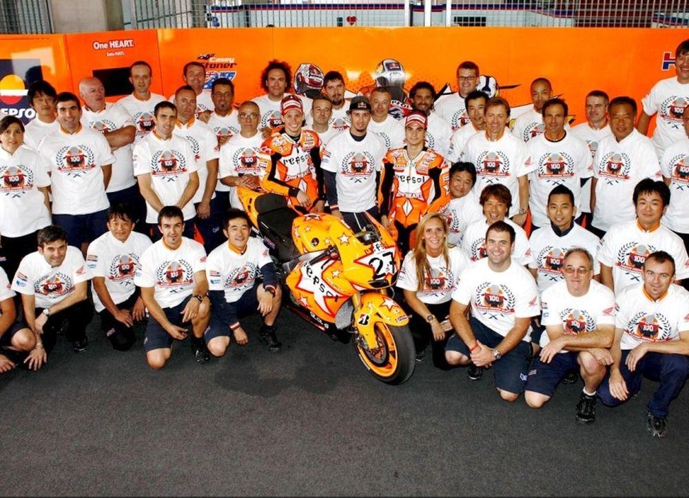 100 νίκες μετρά η Repsol Honda