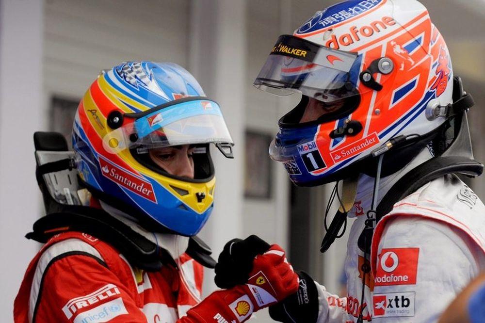 Ο Τζ.Μπάτον στη Ferrari