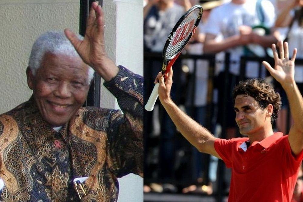 Μετά τον Μαντέλα, ο… Φέντερερ!