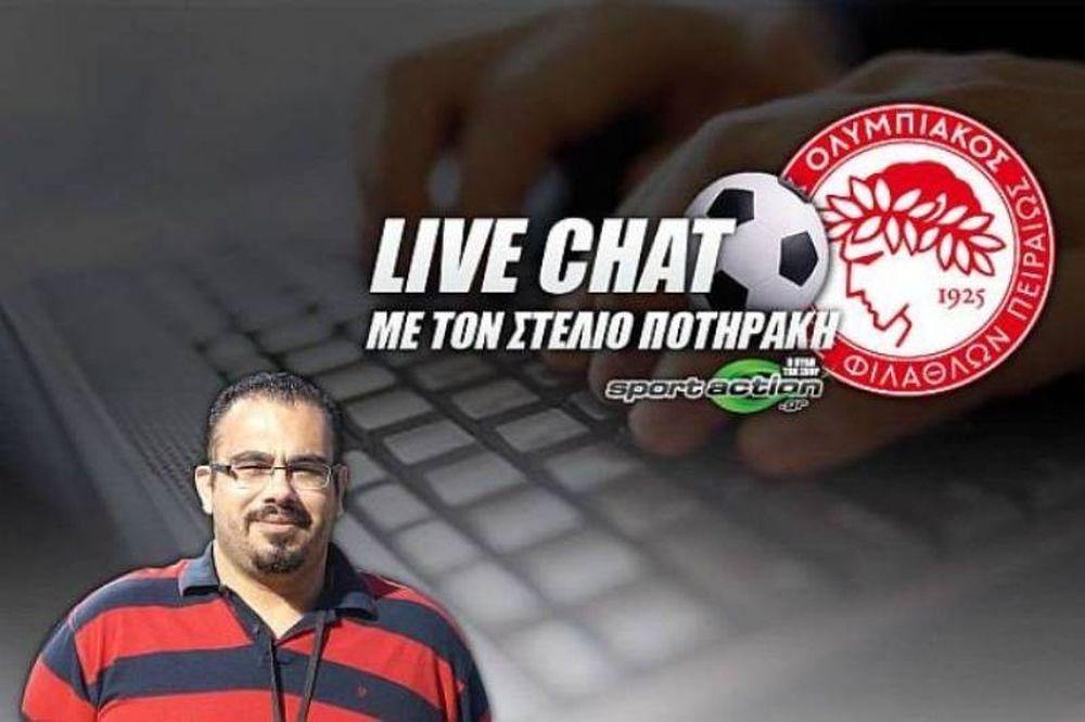 Live Chat με τον Στέλιο Ποτηράκη