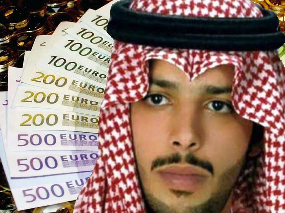 Τα λεφτά μόνη απόδειξη για τον πρίγκιπα