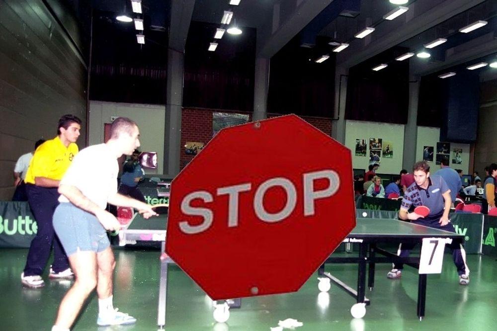 Stop και στο πινγκ-πονγκ