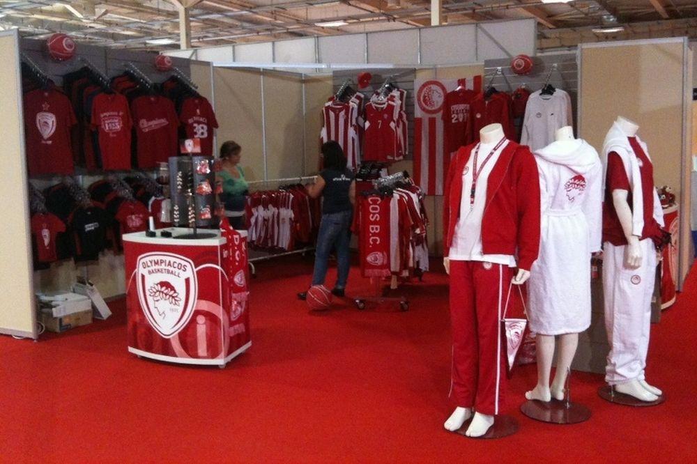 Το Olympiacos Official B.C. Store στη Sport Show