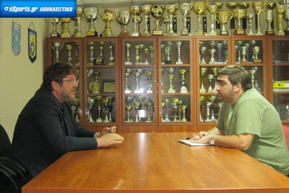 Δασκαλάκης: «Μέσα στις καλύτερες ελληνικές ομάδες»