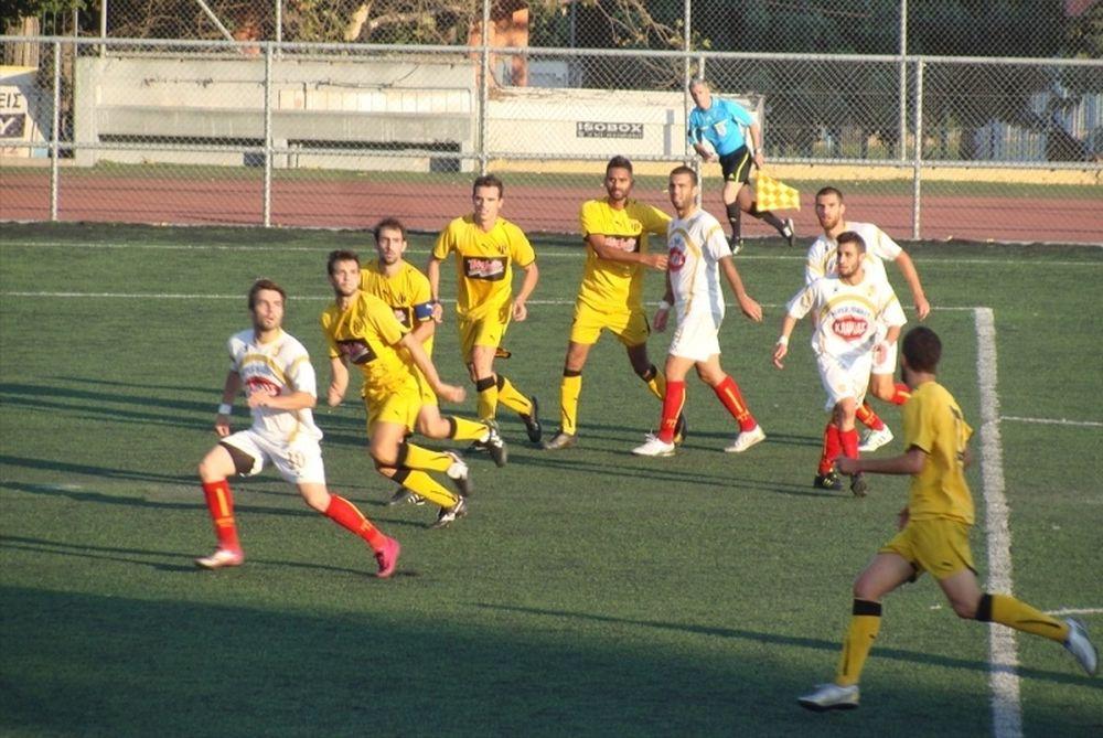 Άγιος Ιερόθεος – Άρης Πετρούπολης 0-1
