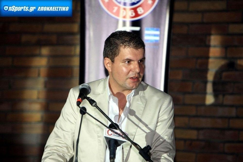 Λυράκης στο Onsports: «Συνεχίζει ο Μπάντοβιτς, δική μου η ευθύνη»