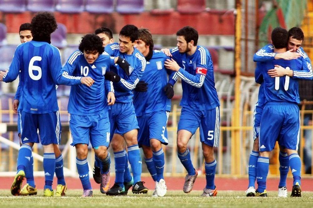 Φιλική νίκη για την Εθνική Νέων επί της Κύπρου