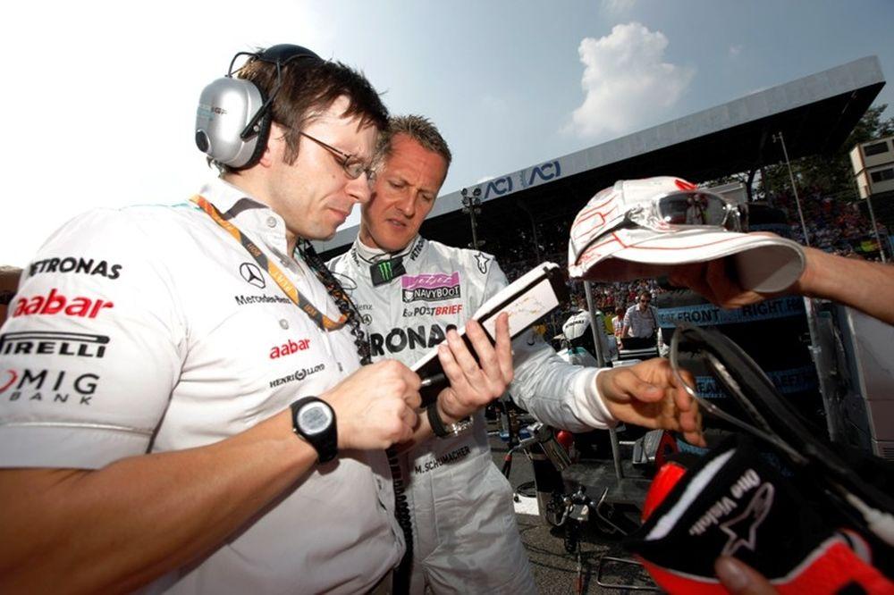 Ο Άλντο Κόστα στη MercedesGP
