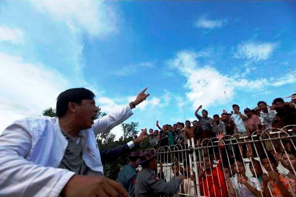 Τιμωρία στην Μιανμάρ
