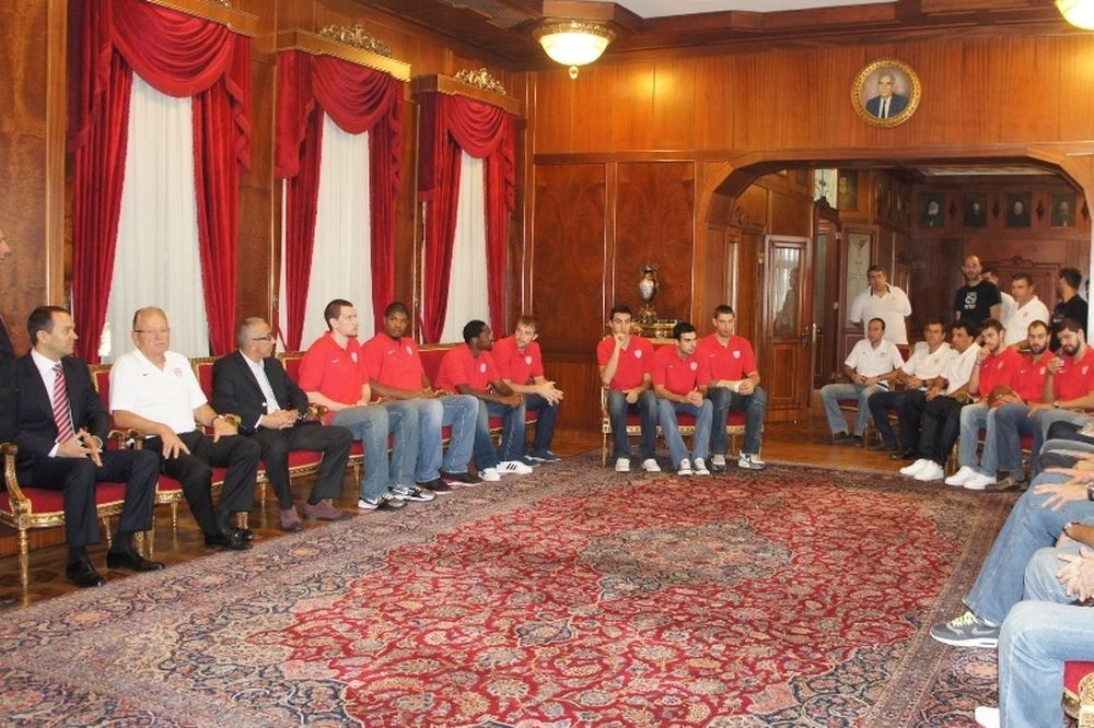 Επισκέφθηκε το Πατριαρχείο ο Ολυμπιακός (photos)