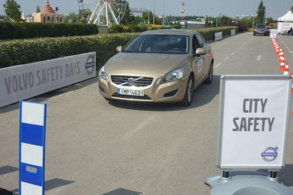 Volvo Safety Days  Θεσ/νίκη: Επίδειξη ασφάλειας