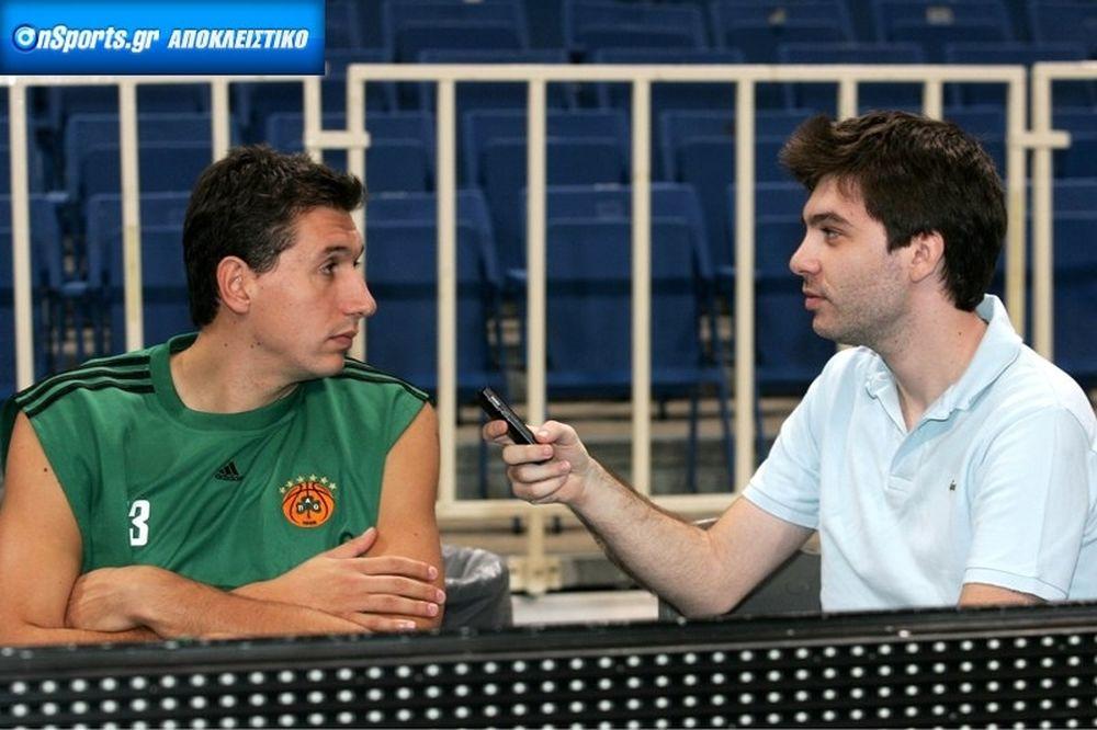 Διαμαντίδης στο Onsports: «Θα είμαστε ανταγωνιστικοί»