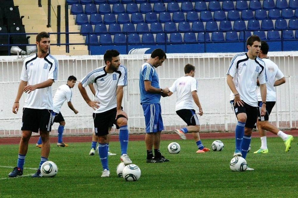 Έτοιμη η Ελπίδων για το ματς με το Σαν Μαρίνο (06/10)