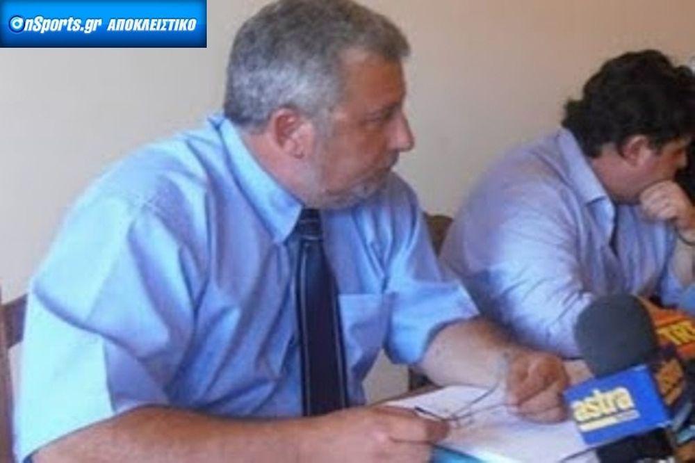 Χαρμάνης στο Onsports: «Προσφυγή στο CAS, φάκελο σε UEFA»