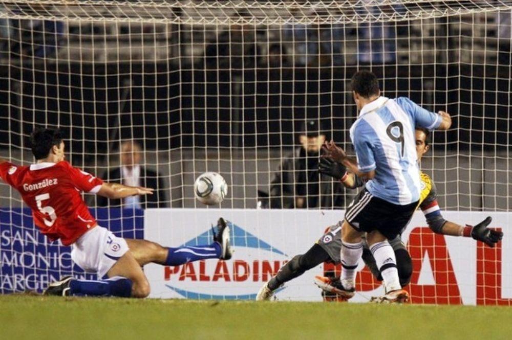 Χατ τρικ ο Ιγκουαΐν για Αργεντινή