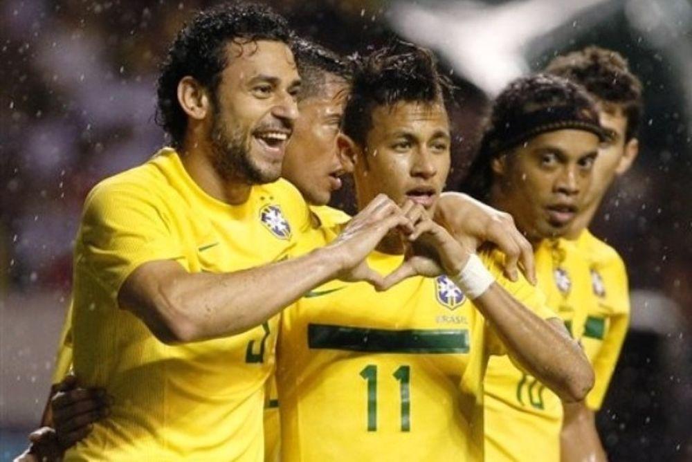 Σκόραρε ο Νεϊμάρ για Βραζιλία